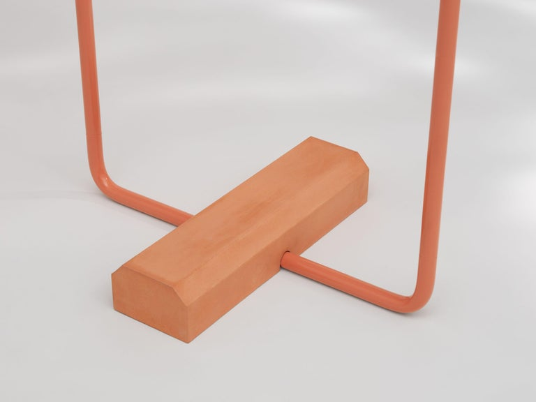 Post-Modern Contemporary Coat Rack Small in Pink by Erik Olovsson For Sale