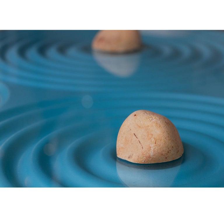 Stone Contemporary Coffee Table