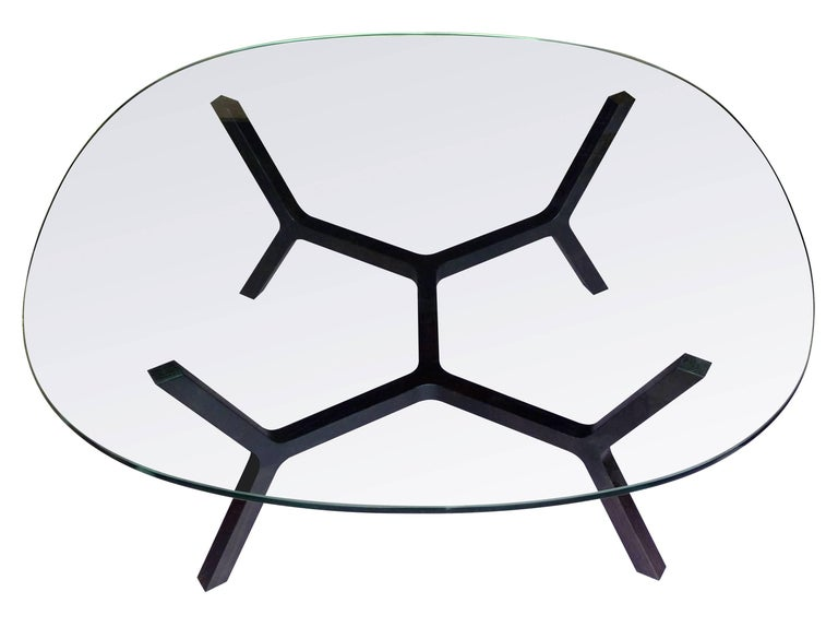 Oiled Contemporary Coffee Table