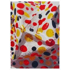 """Contemporary Colorful Artwork """"El pan nuestro de cada día"""" by Alejandro Ortíz"""