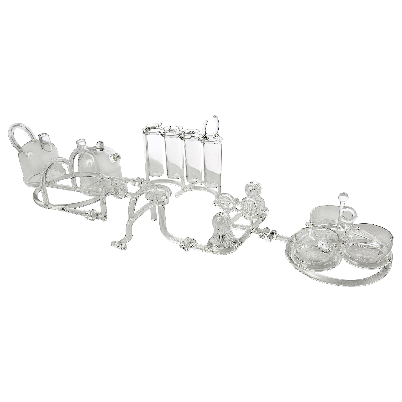 Contemporary Complete Tableware Set Kitchen Glass Handmade