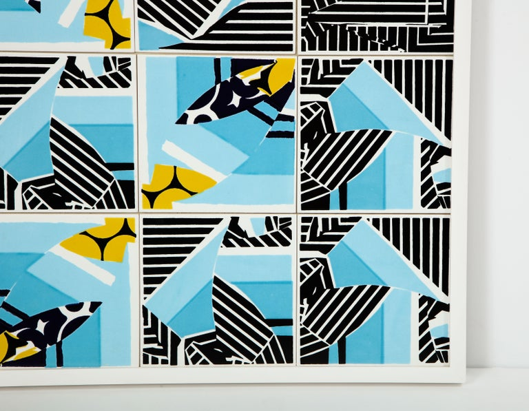 Contemporary Composition with Limited Edition Tiles by Brazilian Designer In New Condition For Sale In Miami, FL