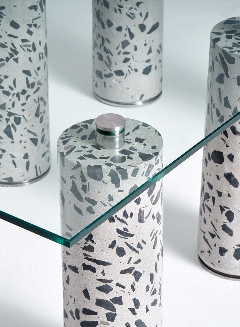 The CORE collection was born out of the idea of expressing a material in a different light. After taking a concrete core from my building site, I realized that the simple process of core drilling could actually create something manicured and