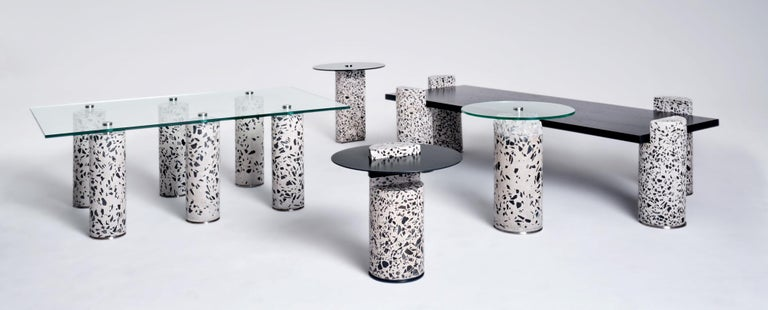 South African Contemporary Concrete Coffee Table, 6 by Oliver Whyte For Sale