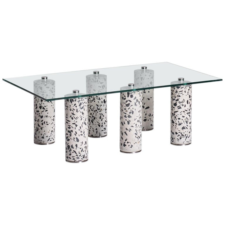 Contemporary Concrete Coffee Table, 6 by Oliver Whyte For Sale