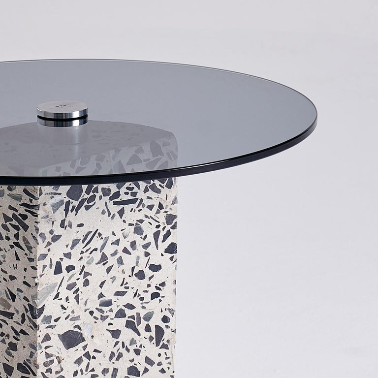 Other Contemporary Concrete Side Table, Flat by Oliver Whyte For Sale