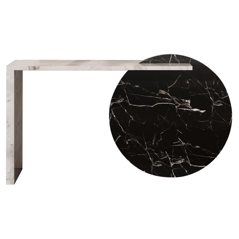 Contemporary Console Marble Table, by Chapter 101 For Sale