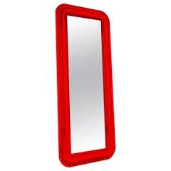 Contemporary Convex Mirror in Aluminium by Altreforme