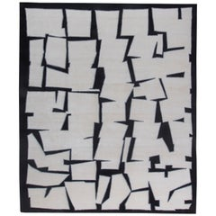 Contemporary Cubist Inspired Rug