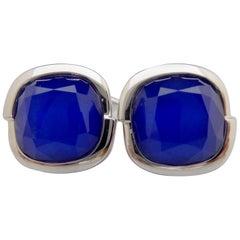 Contemporary Cufflinks by British Jewelry Designer Stephen Webster, White Gold