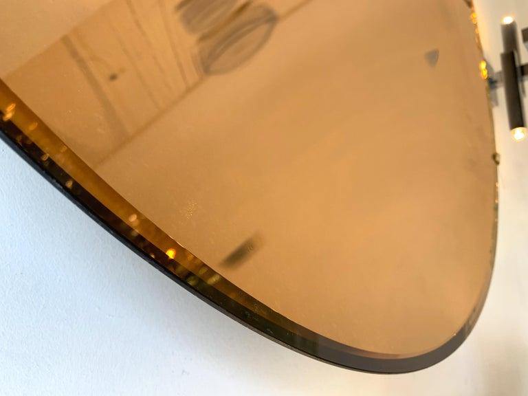 Futurist Contemporary Curve Mirror, Italy For Sale