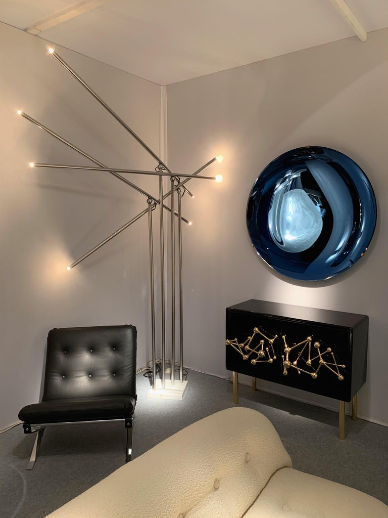 Contemporary Curve Mirror, Italy For Sale 4