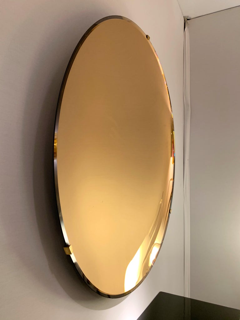 Contemporary Curve Mirror, Italy For Sale 2