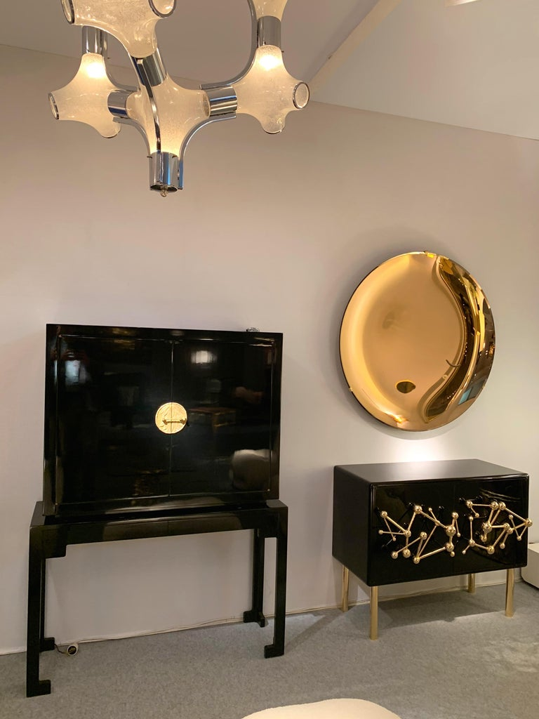 Contemporary Curve Mirror, Italy For Sale 3