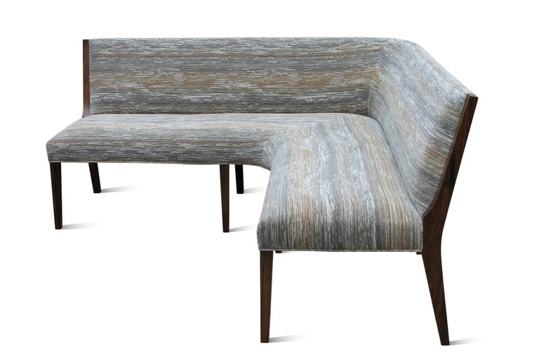 Argentine Contemporary Custom Made Carina Dining Booth in Fabric from Costantini For Sale