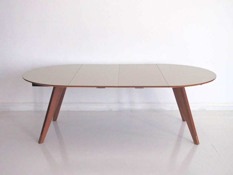 Laminate Contemporary Danish Extendable Dining Table by Bolia For Sale