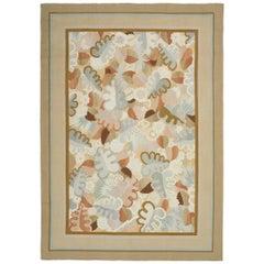 """Contemporary """"Deco Foliage"""" Design Carpet"""