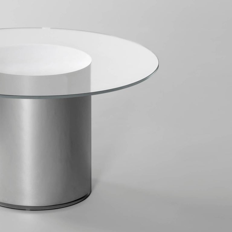 Mid-Century Modern Contemporary Design '2001' N2 Side Tables by Ramon Úbeda and Otto Canalda For Sale