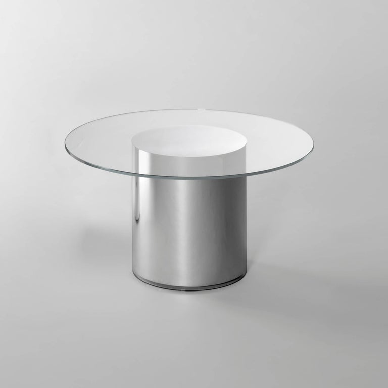 Spanish Contemporary Design '2001' N2 Side Tables by Ramon Úbeda and Otto Canalda For Sale