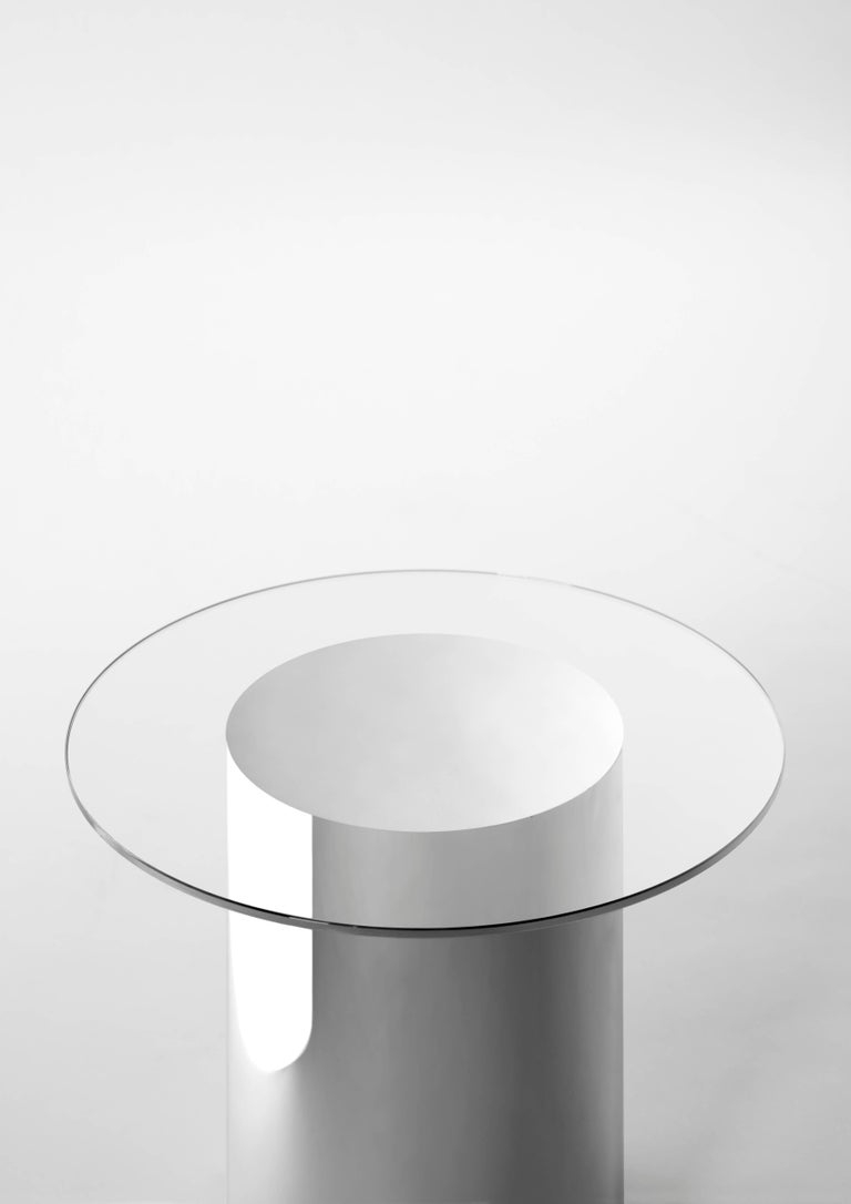 Contemporary Design '2001' N2 Side Tables by Ramon Úbeda and Otto Canalda For Sale 3