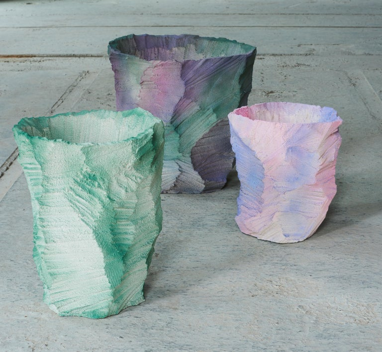 Danish Contemporary Design 'Artificial Nature' Moss, Vase by Andredottir & Bobek For Sale