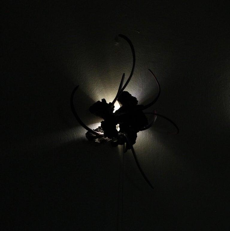 Contemporary Design Ceramic Wall Lamp by Teemu Salonen, Finland, Unique For Sale 1