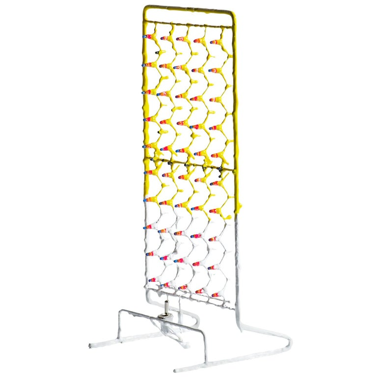 Contemporary Design Light, Standing Table Lamp in Epoxy Resin, Led Bulbs For Sale