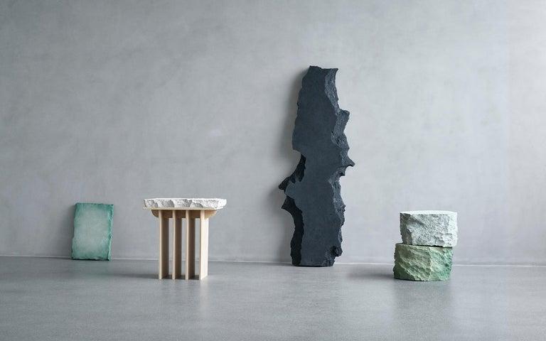 Danish Contemporary Design 'Meadow Blocks Side Table, by Andredottir & Bobek  For Sale