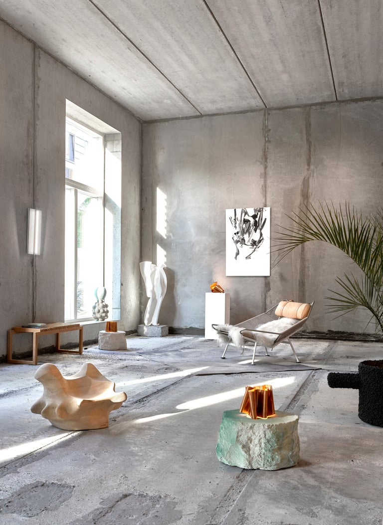 Foam Contemporary Design 'Meadow Blocks Side Table, by Andredottir & Bobek  For Sale
