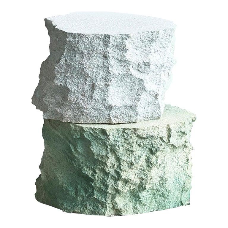 Contemporary Design 'Meadow Blocks Side Table, by Andredottir & Bobek  For Sale