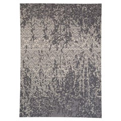 Contemporary Design Petra Gray Handwoven Wool Rug