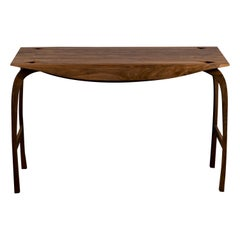 Writing Desk in Solid English Walnut, Design No 5. Unique. by Jonathan Field