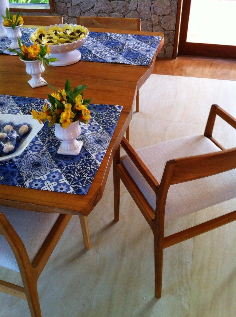 Dining Table in Brazilian Hardwood by Ricardo Graham Ferreira In New Condition For Sale In Nova Friburgo, RJ