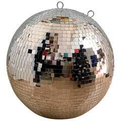 Contemporary Disco Glitter Mirror Ball