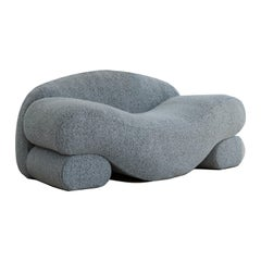 Contemporary Eco-Friendly Ergonomic Beanbag Beanie Lounger