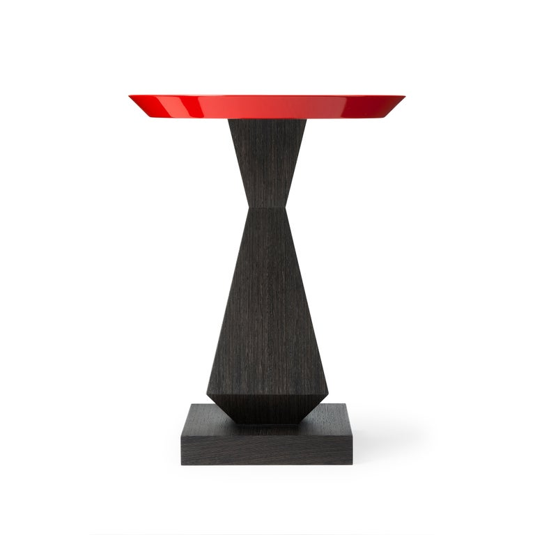 Modern Contemporary Edo Dining Table in Oak or Walnut For Sale