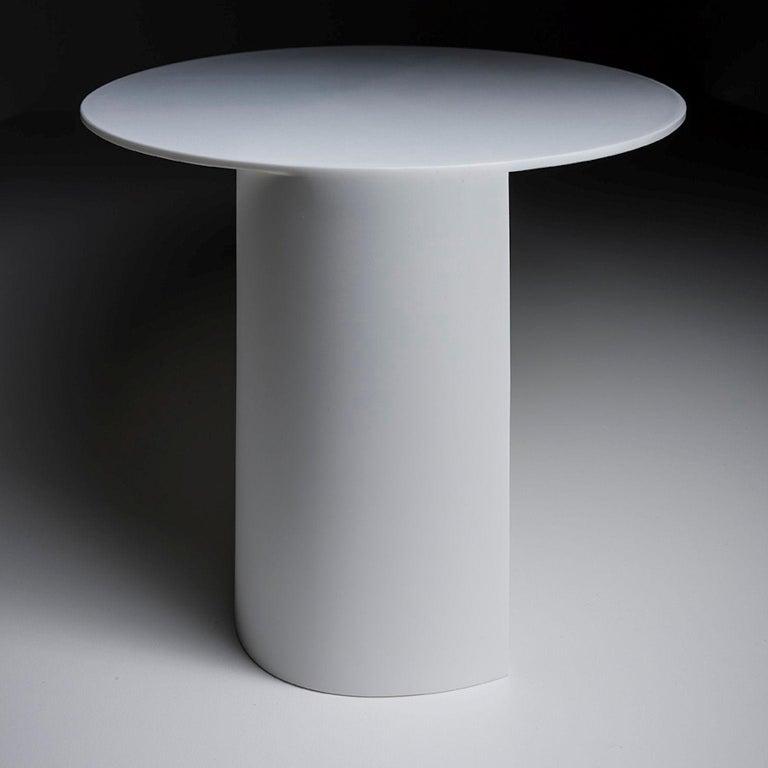 Acrylic Modern Sculptural Table by Sebastiano Bottos, Italia For Sale