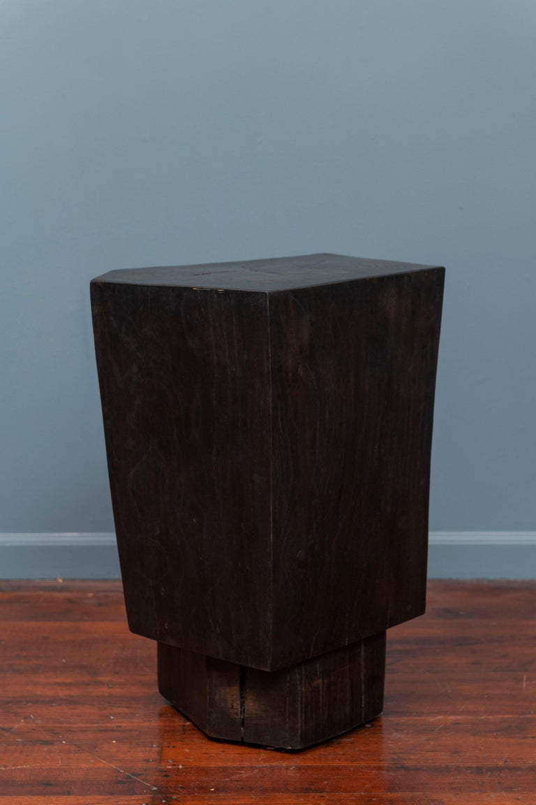 Contemporary Faceted Side Table In Excellent Condition For Sale In San Francisco, CA