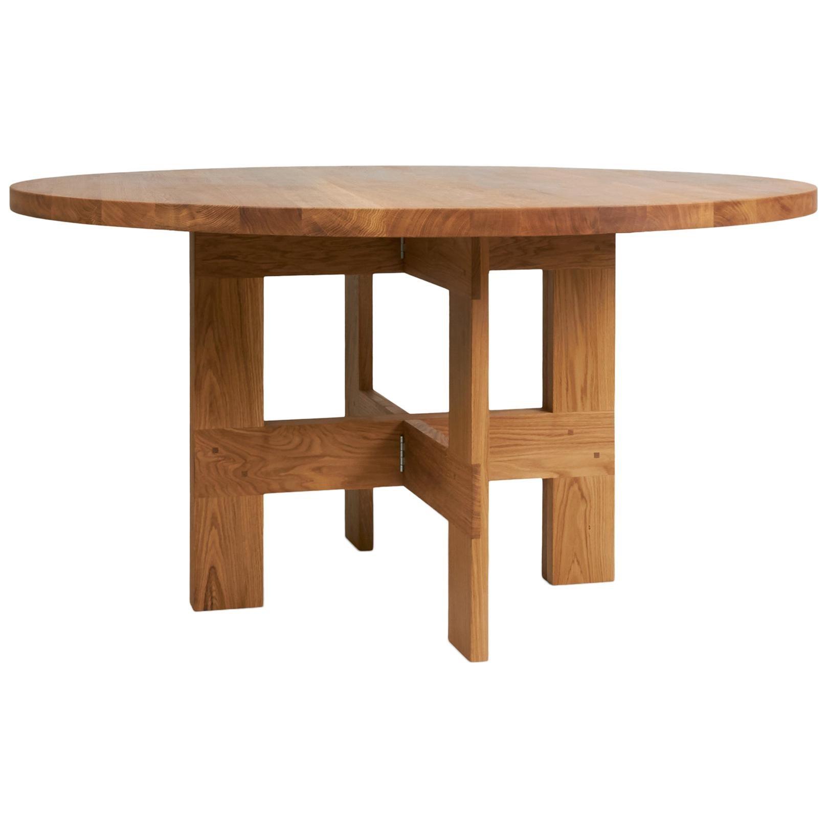 Contemporary Farmhouse Table Round