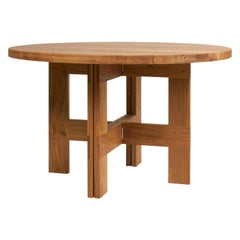 Contemporary Farmhouse Table Round