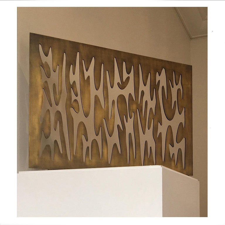 Greek Contemporary Fireplace Screen