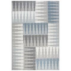 Contemporary Flat-Weave Rug, 21st Century