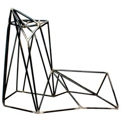 Contemporary Floor Sculpture in Steel by Mtharu