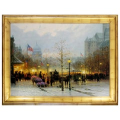 Contemporary Framed G Harvey Signed Giclee 251/395 Inauguration Eve