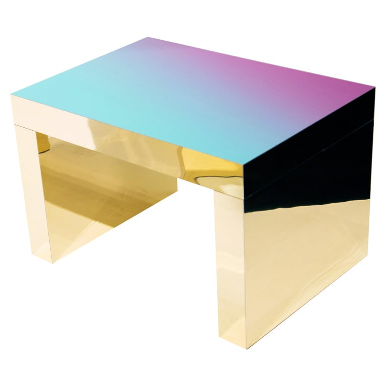 Contemporary Gaby Gradient Desk by Chapel Petrassi For Sale