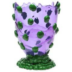 Contemporary Gaetano Pesce Nugget M Vase Resin Purple Green