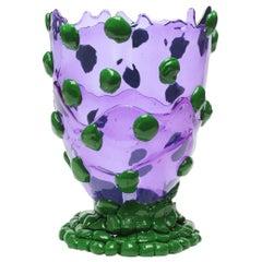 Contemporary Gaetano Pesce Nugget L Vase Resin Purple Green
