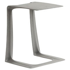 Contemporary Garrison 52-102 Iron Side Table or Stool by Stacklab