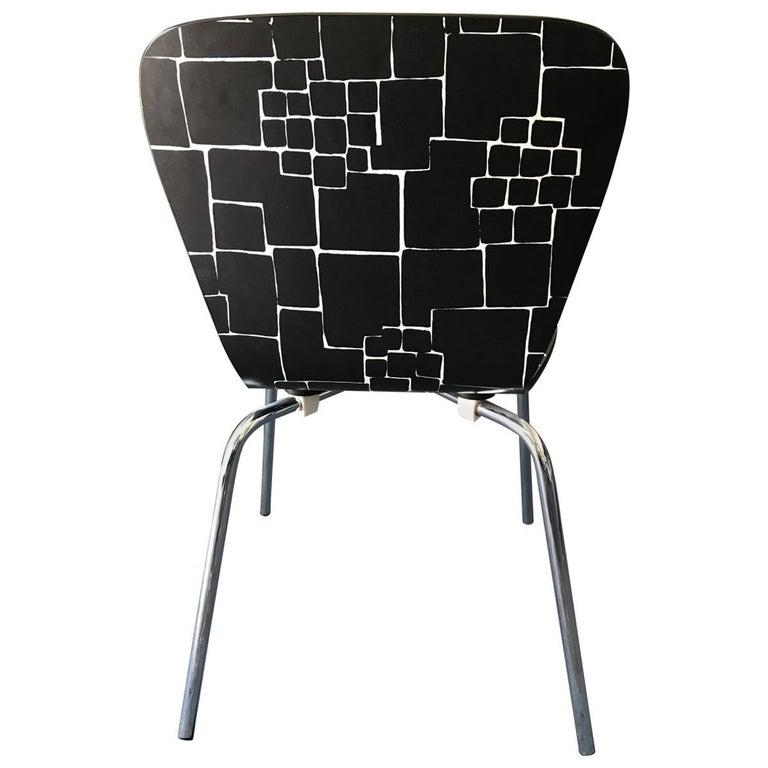 Sensational Contemporary Geometric Desk Chair Theyellowbook Wood Chair Design Ideas Theyellowbookinfo