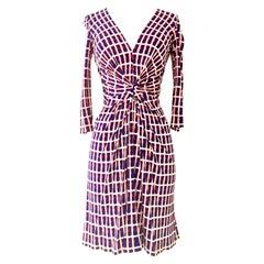 "Contemporary Geometric ""Patriotic"" Dress By, Issa London"